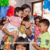 fiesta infantil divertida aeiou
