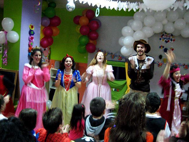 Animadores para fiestas infantiles