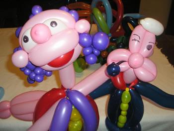Cómo hacer figuras con globos
