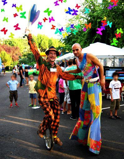 Fiestas infantiles temáticas de Circo Aeiou