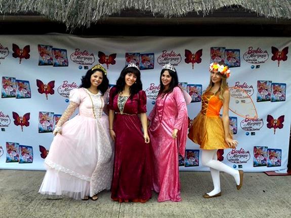 Fiestas temáticas de princesas Aeiou