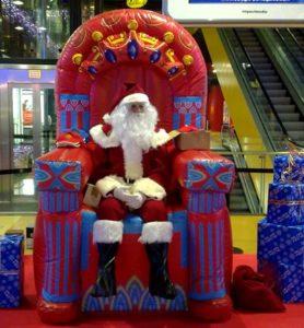 Visita Papá Noel Reyes Magos en Navidad