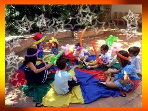 cómo captar la atención de los niños en una fiesta infantil