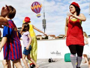 Fiestas infantiles en verano