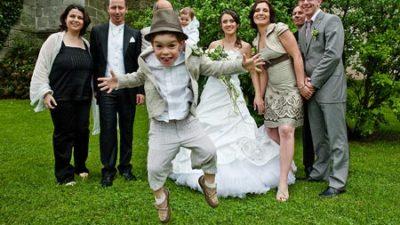 Qué hacer con los niños en una boda