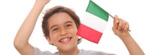 clase de italiano para niños