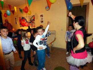 Animación de fiestas de cumpleaños infantiles y comuniones en Granada