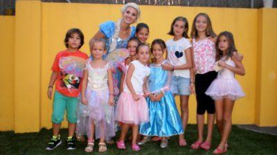 Fiesta Frozen en Aeiou