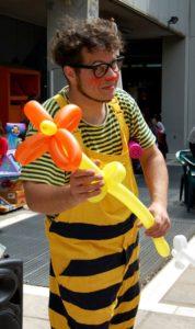 Animaciones de fiesta de cumpleaños infantil en Toledo
