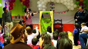 Animadores fiestas infantiles en Madrid