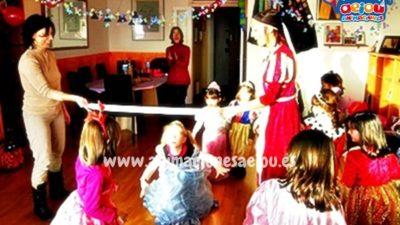 Fiestas infantiles en inglés en verano