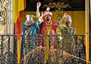 Cabalgata de Reyes en Mallorca