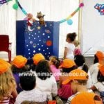 Juegos para niños los cuentos y títeres