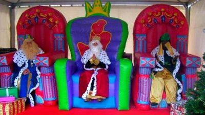 Nuestros eventos con los reyes magos
