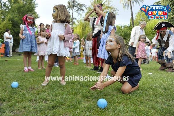 Gymkana por equipos para fiestas infantiles