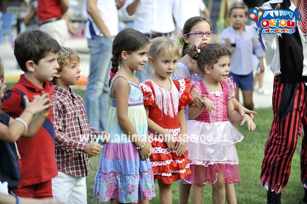 Organizar gymkana para fiestas infantiles
