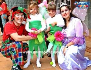 Animadores magos payasos comuniones Pamplona