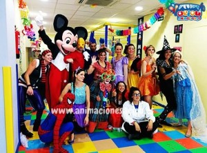 hire children's party entertainers