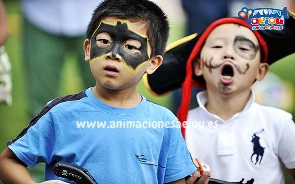 Fiestas infanitles en Castellón a domicilio