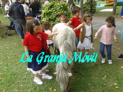 Fiestas infantiles con animales la granja móvil
