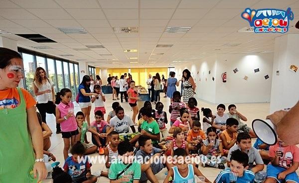 animadores para fiestas de cumpleaños infantiles en Vitoria
