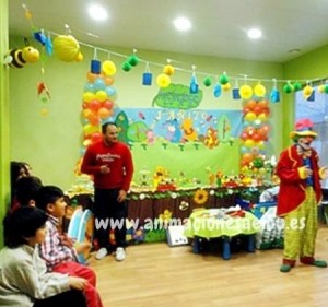 Payasos para fiestas infantiles en Pamplona