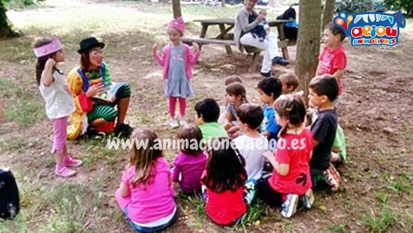 Animación infantil de bautizos en Pamplona