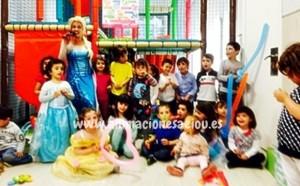 Fiestas tematicas infantiles en Vitoria