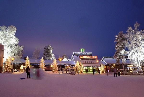 Donde está la casa de Papá Noel