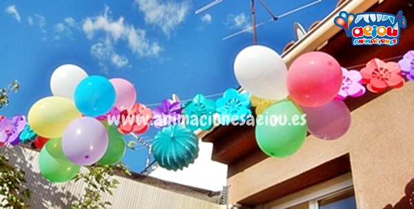 decoración cumpleaños a domicilio
