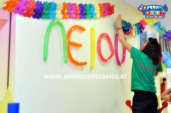 decoracion con globos fiestas infantiles