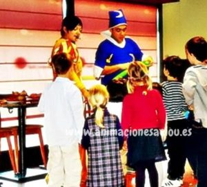 Actuación de mago para fiestas infantiles en Pamplona