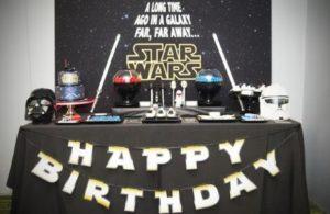 Cómo organizar una fiesta de Star Wars