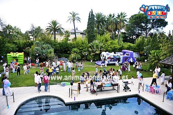 Consejos para organizar una fiesta infantil en exteriores