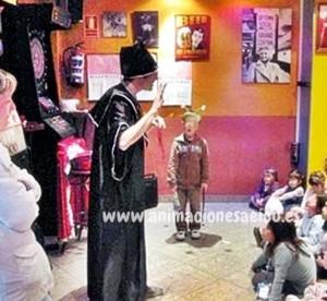 Magia con animales para fiestas en Vitoria