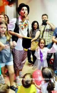 Show de magia para fiestas infantiles en Pamplona
