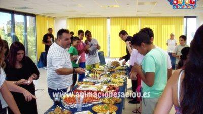 Tipos de comida dependiendo de la fiesta