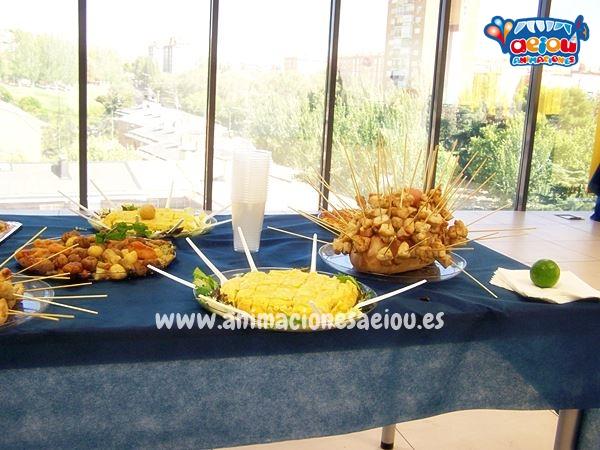 tipos de comida dependiendo la fiesta