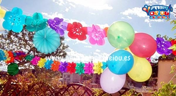 Decoración de fiestas infantiles en Pamplona a domicilio