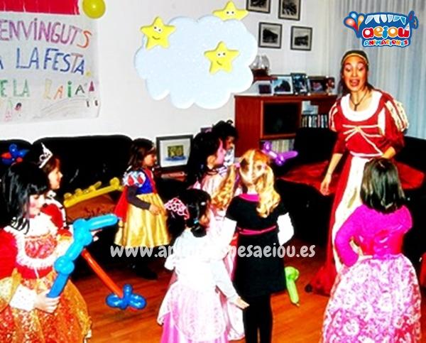 Cómo contratar para una fiesta de princesas