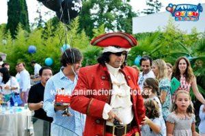 Fiesta de cumpleaños pirata en España