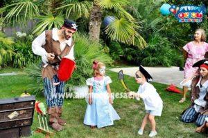 Fiesta piratas infantiles en España