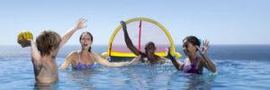 Juegos por equipos para fiestas de piscina