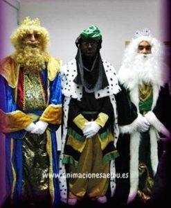 Reyes Magos a domicilio en Pamplona para niños