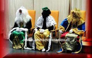 Reyes Magos a domicilio para fiestas infantiles en Pamplona