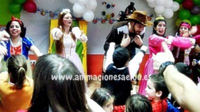 Ideas para tu fiesta de princesas en Madrid