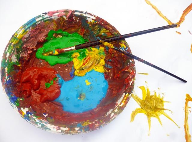 Juegos divertidos con pintura para cumpleaños infantiles