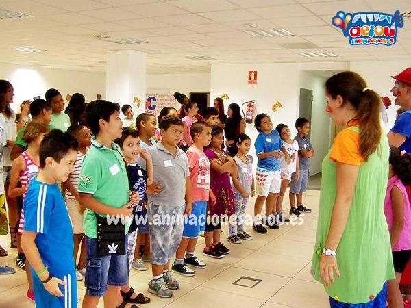 Animaciones para entretener a los niños en fiestas infantiles