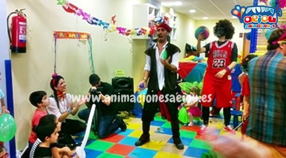 Opción de animaciones para fiestas de comuniones en Cáceres