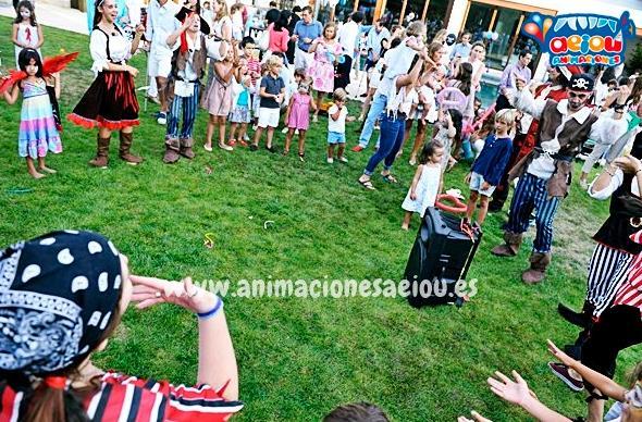 Fiestas de cumpleanos infantiles y comuniones en santander cantabria